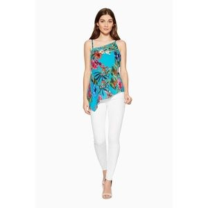 Parker Mallory Floral Tank Top